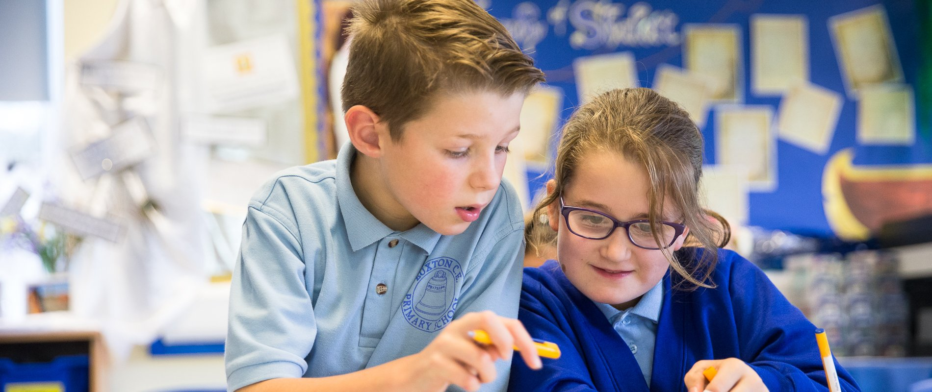 Our curriculum is broad and balanced, adapted to our children's needs….